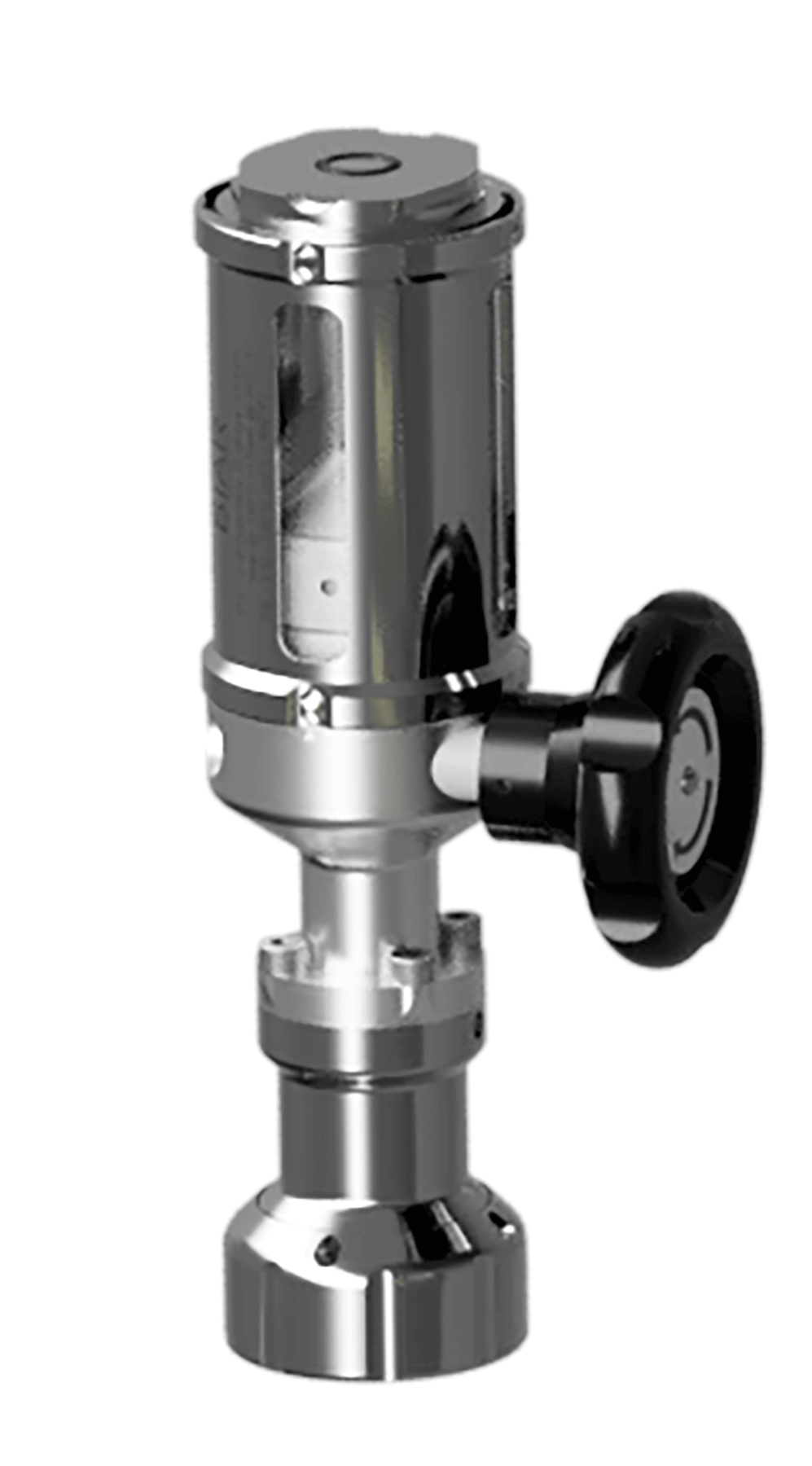 Sample cylinder with piston-injector