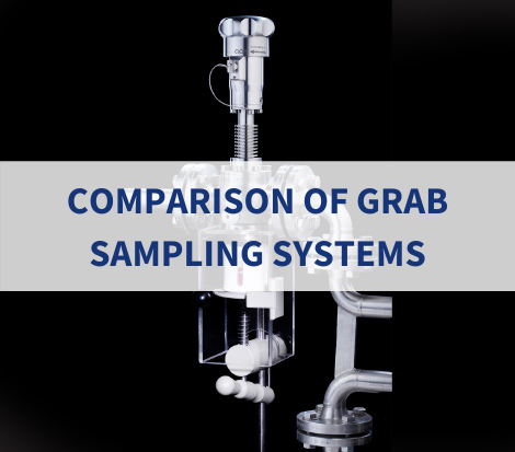 comparison of grab sampling systems