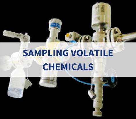 sampling volatile chemicals